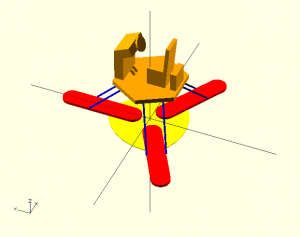 Designed in OpenSCAD