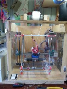 My Prusa Mendel i2 3D Printer
