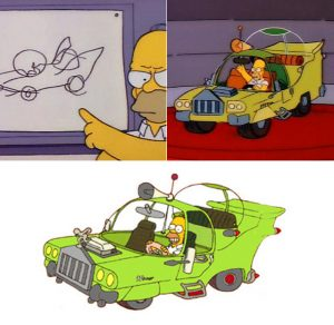 homer-car-in-cartoon